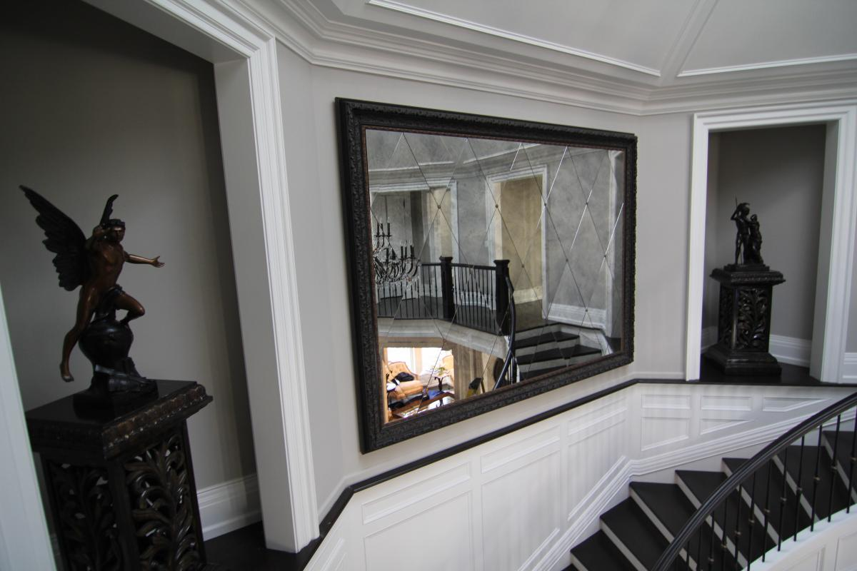 rules insert fireplace above decorative black mirror with over mirrors brick for